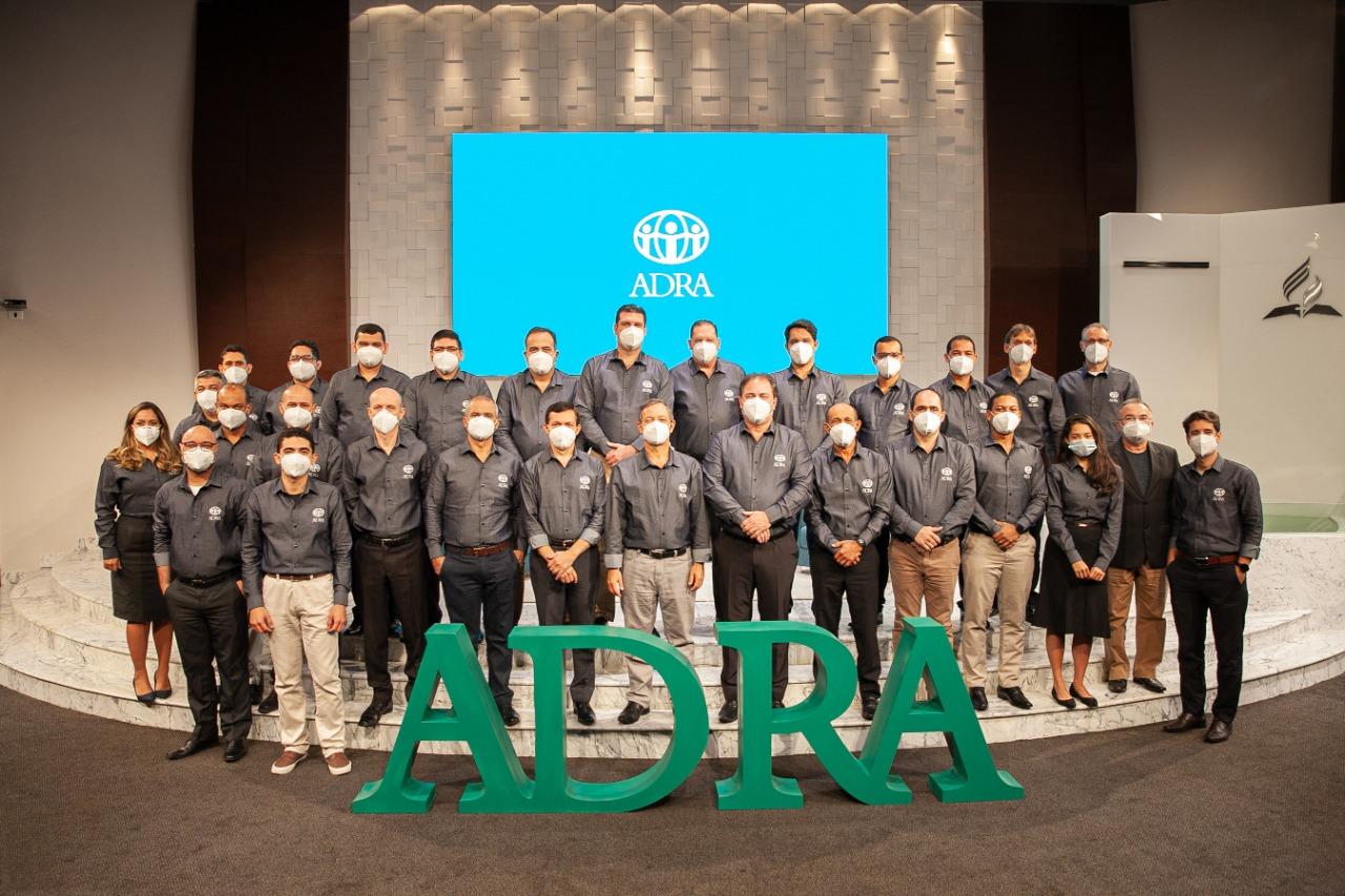 Equipe atual da ADRA Brasil