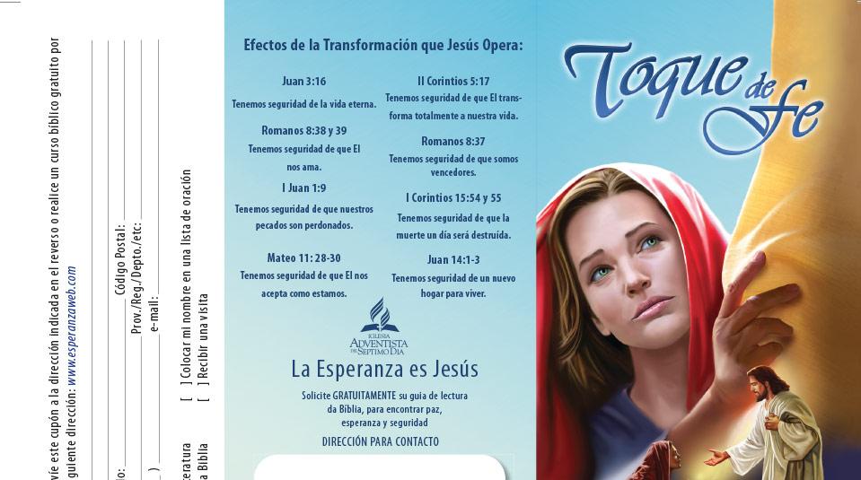Volante: Sábado misionero de la mujer 2010