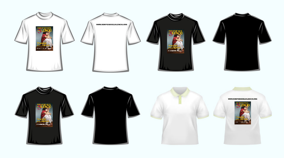 Arte Camiseta: Rompiendo el Silencio