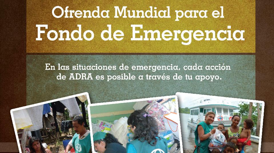 Afiche: Fondo Emergencia 2013