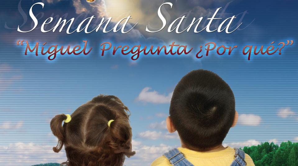 Afiche para Niños – Semana Santa 2012