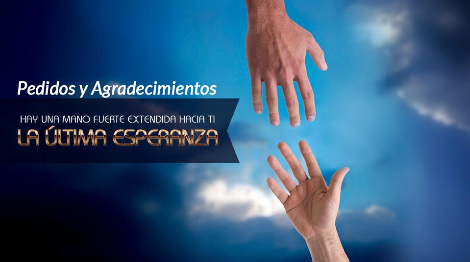 Tarjeta – Pedidos y Agradecimiento: La Última Esperanza 2013
