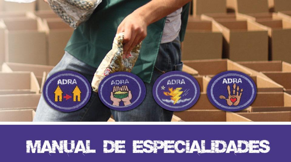 Manual de orientación de las Especialidades de ADRA