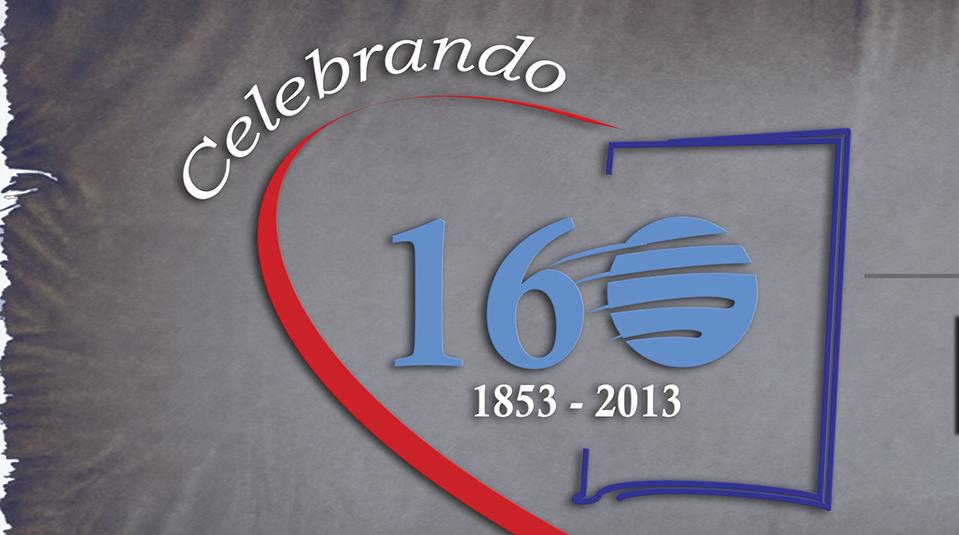 Imagen del logo Celebrando 160 años de la Escuela Sabática