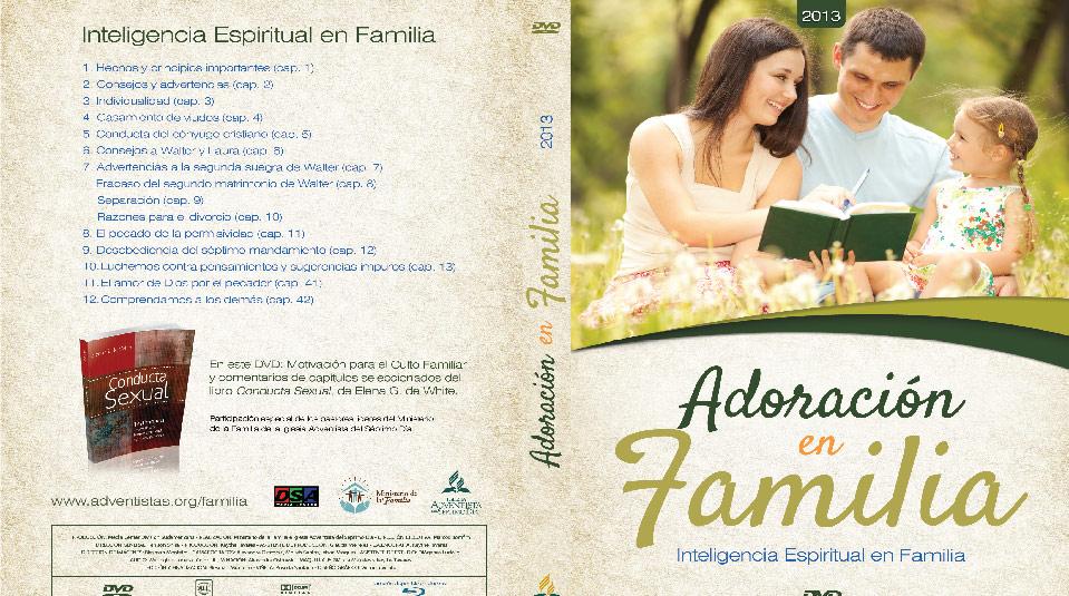 Tapa DVD: Adoración en Familia 2013
