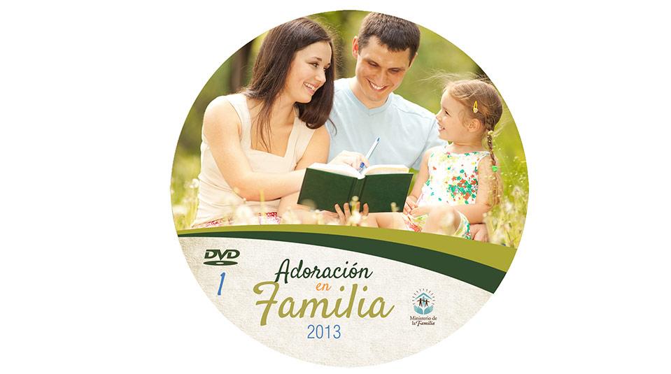 Etiqueta DVD: Adoración en Familia 2013