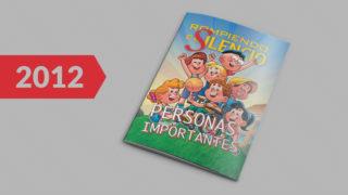 Revista infantil: Rompiendo el Silencio 2012