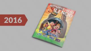 Revista infantil: Rompiendo el Silencio 2016