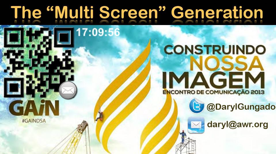 Seminario sobre Generacion de Multi-screen por Daryl Gungadoo
