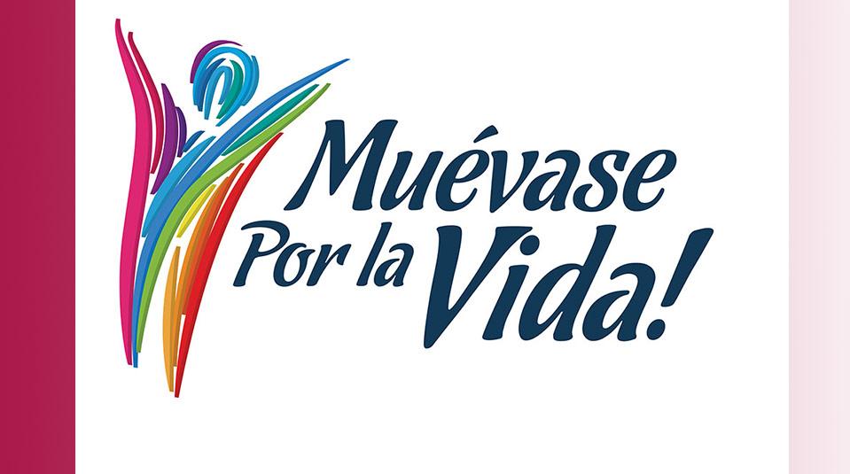 Diseño Abierto del logo: Muévase por la Vida