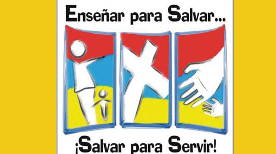 Logotipo: Enseñar para Salvar … Salvar para Servir