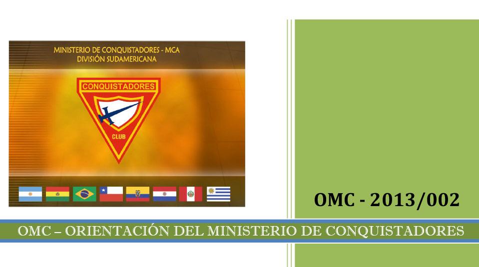 Tarjeta de Liderazgo – Orientación del Ministerio de Conquistadores