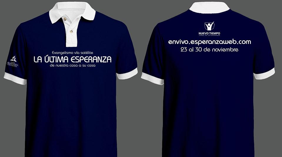 Arte Camiseta: La última Esperanza – Evangelismo vía Satélite
