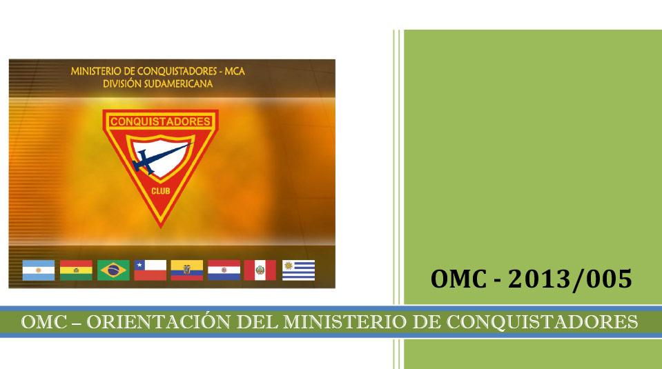 Tarjeta Companero – Orientaciones del Ministerio de Conquistadores