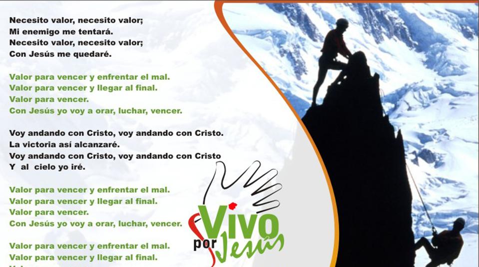 Letras Vivo por Jesús CD Joven
