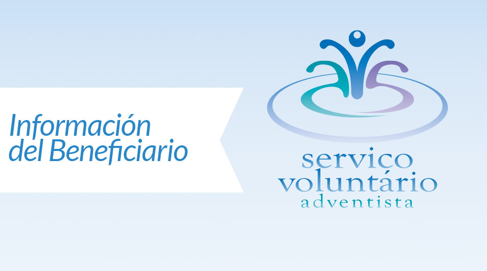 Beneficiary form (Información del Beneficiario)