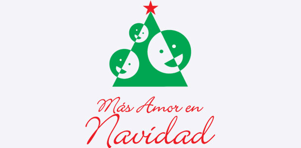 Logotipo: Más Amor en Navidad