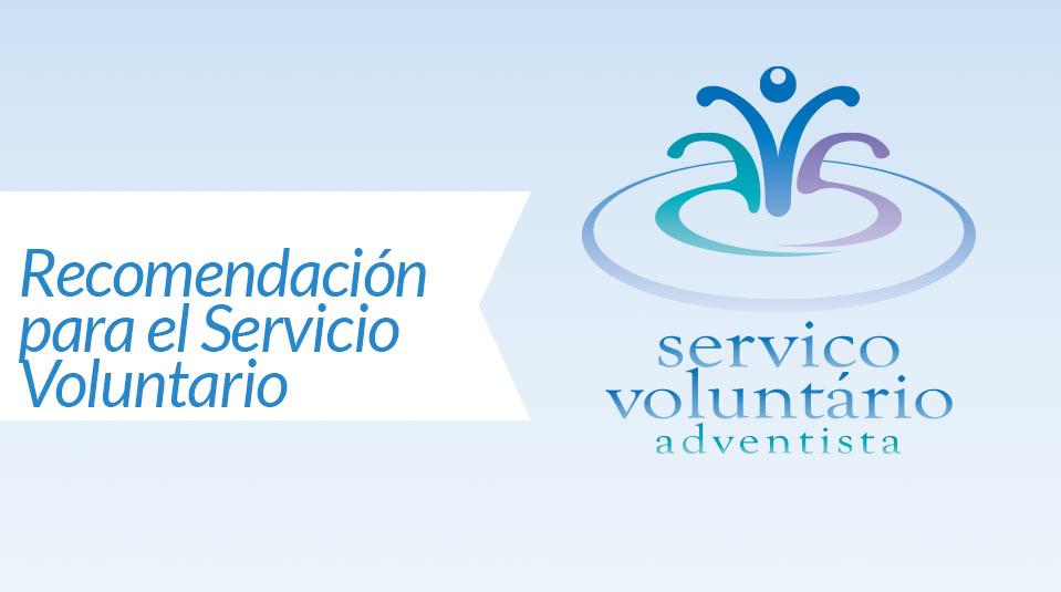 Confidential Reference  (Recomendación para el Servicio Voluntario)