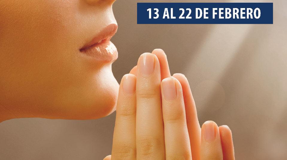 Afiche: 10 días de oración y 10 horas de ayuno 2014