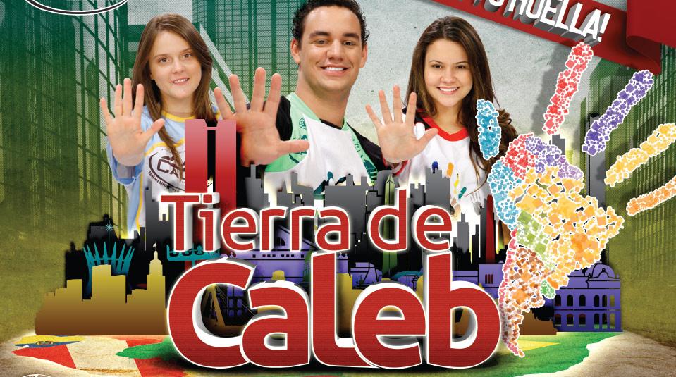 Afiche: Misión Caleb 2014