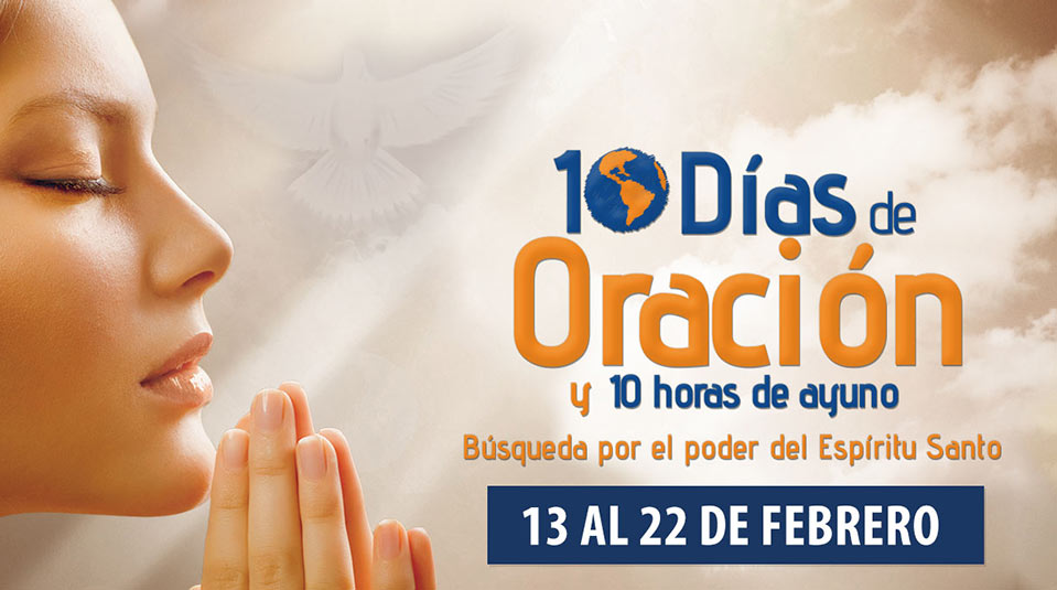 Plantilla de power point: 10 días de oración y 10 horas de ayuno 2014