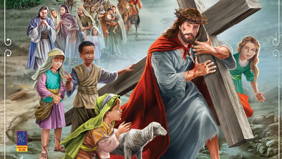 Afiche: Semana Santa Infantil 2014