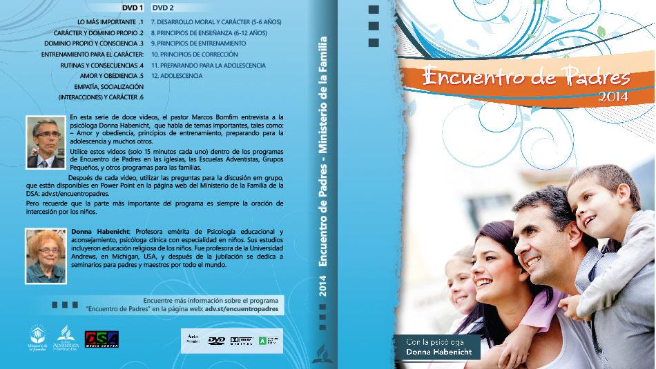 Tapa del DVD: Encuentro de Padres 2014
