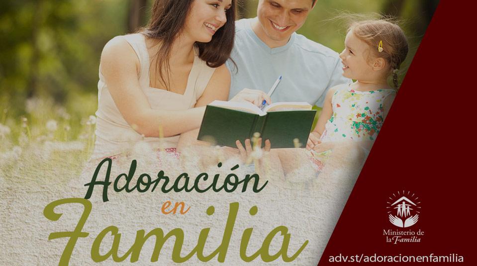 Presentación: Adoración en Familia 2014
