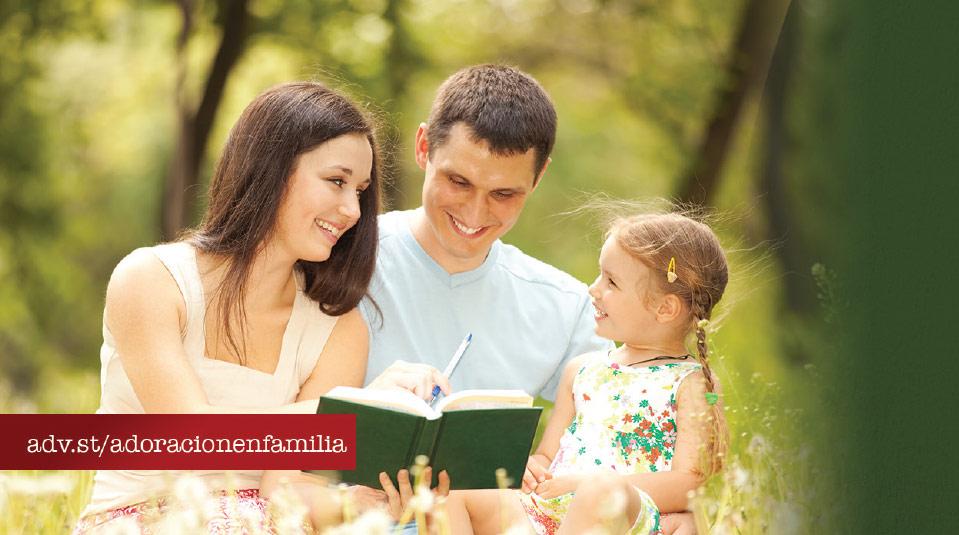 Marca Página: Adoración en Familia 2014