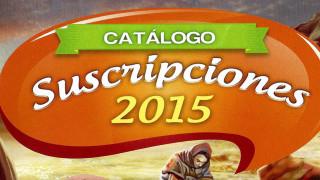 Catálogo de Suscripciones 2015