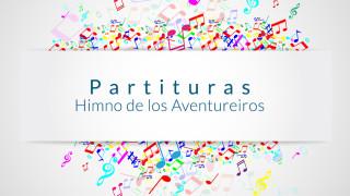 Partitura: Himno de los Aventureros