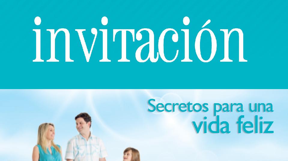 Invitación Evangelismo Viva Con Esperanza Materiales Y