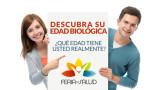 Formulario: Entérate de tu edad biológica – Feria de Salud