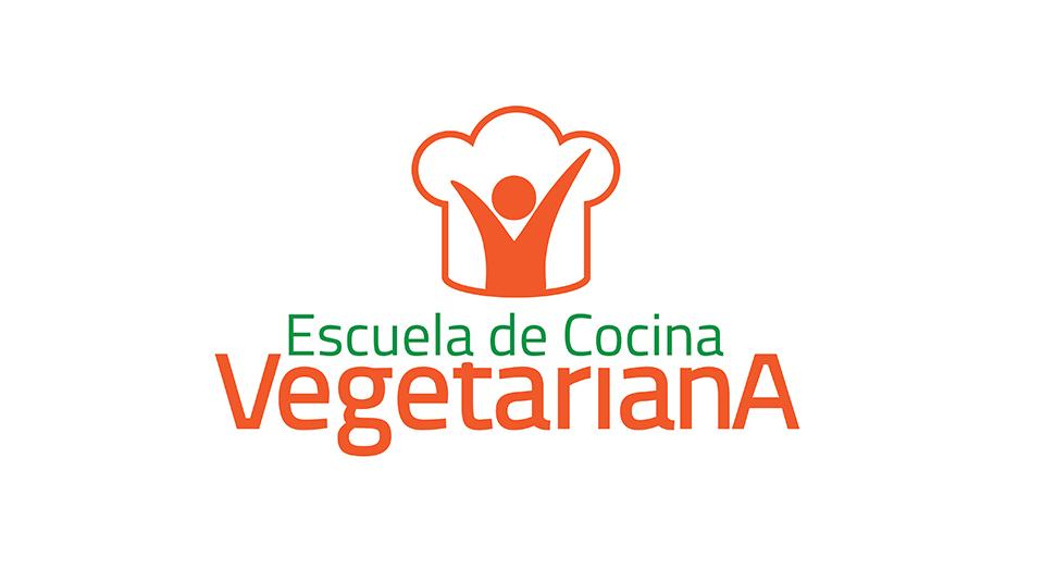 Logo escuela de cocina vegetariana materiales y for Escuela de cocina