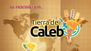 Afiche: Tierra de Caleb 2015