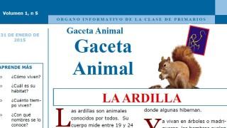 Gaceta Animal – La Ardilla 1º Trimestre 2015