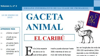 Gaceta Animal – El Caribú 1º Trimestre 2015