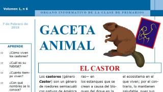 Gaceta Animal – El Castor 1º Trimestre 2015
