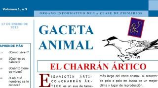 Gaceta Animal – El Charrán Ártico 1º Trimestre 2015