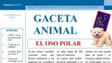 Gaceta Animal – Oso Polar 1ºTrimestre 2015