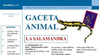 Gaceta Animal – La Salamandra 1º Trimestre 2015