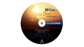 Etiqueta, label DVD: 10 Días de oración y 10 horas de ayuno 2015