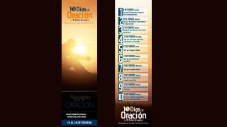 Marca páginas: 10 Días de oración y 10 horas de ayuno 2015