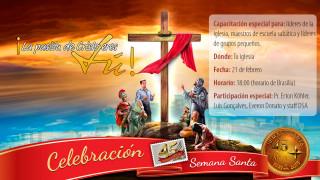 Afiche de entrenamiento de Semana Santa – 2015