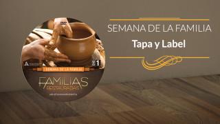 Tapa y Label del DVD: Familias Restauradas – Semana de la Familia 2015