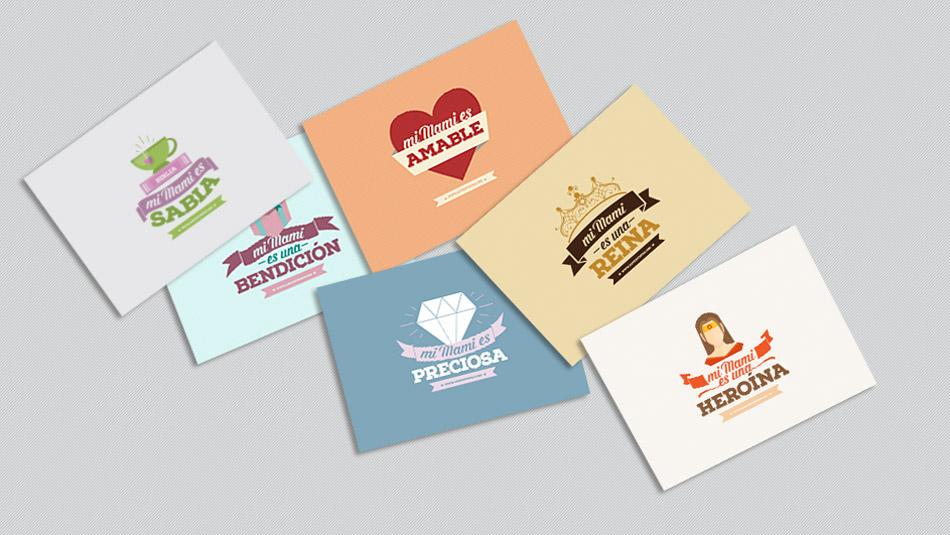 Postales Para Imprimir Día De La Madre Materiales Y Recursos