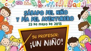 Afiche: Sábado de los niños y aventureros 2015
