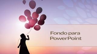 Fondo para PowerPoint: Aniversario ministerio de la Mujer