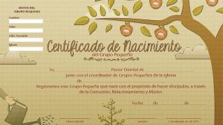 Certificado: Multiplicando Esperanza 2015