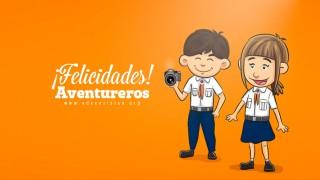 Video: Líderes de países saludado a los Aventureros